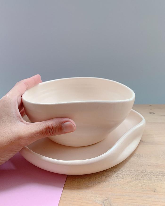 Bol de cerámica Ergo